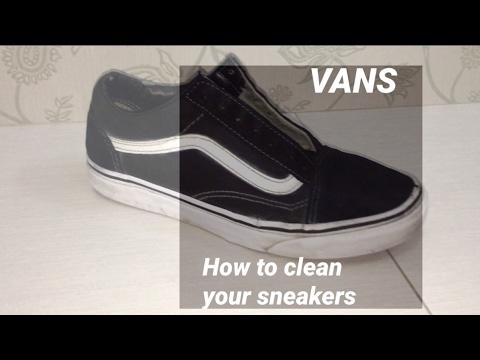 How to clean your sneakers? - VANS OLD SCHOOL