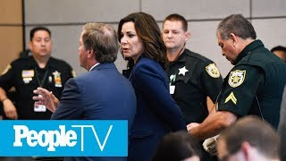 RHONY Star Luann De Lesseps Admits To Violating Probation, Is Briefly Handcuffed In Court | PeopleTV