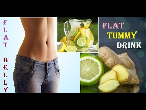 Flat Belly Diet Drink - Get Rid of Unwanted Fat at Your Stomach
