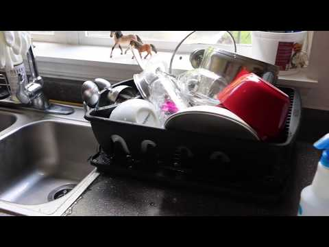 SMALL KITCHEN  CLEANING ROUTINE 2017-MORNING KITCHEN CLEANING ROUTINE