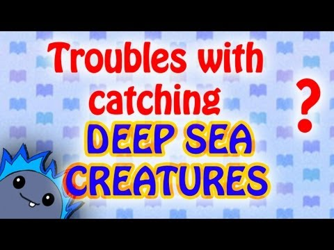 DEEP-SEA CREATURES GUIDE - Animal Crossing: New Leaf