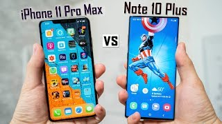 iPhone 11 Pro Max vs Note 10 Plus - Which is More PRO?