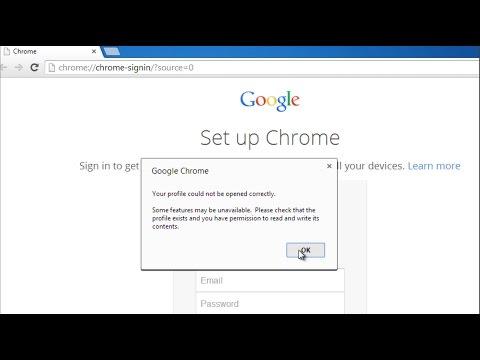 How to fix Google Chrome error