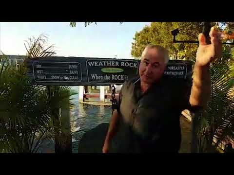 New weather reporter, crazy weatherman, the rock weather station, insane news reporter