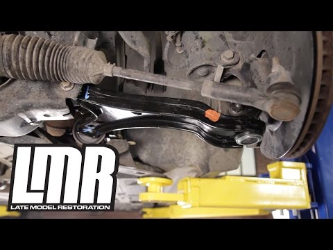 Mustang Front Lower Control Arm Install - 05-09 FRPP GT500 Style M-3075-E