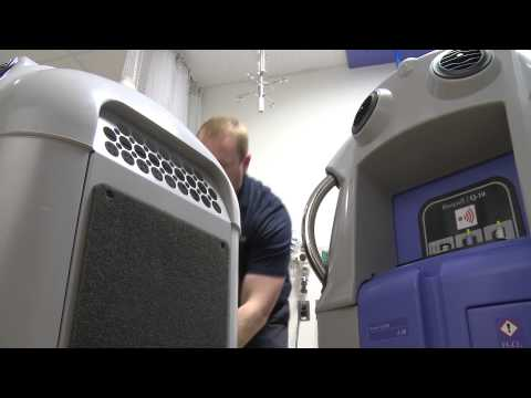 Johns Hopkins uses technology to clean hospital rooms