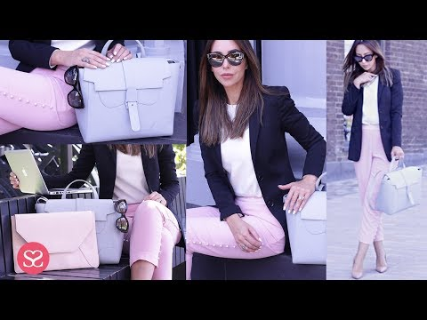 UNBOXING MY NEW LUXURY BOSS BUSINESS BAG | Workwear Styling Series  | Sophie Shohet AD