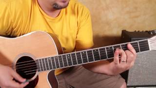 Pink Floyd  - Breathe -  Chords - How to Play on Guitar  - guitar lessons
