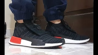 2a2718f61e46 Unboxing Adidas NMD_TS1 Primeknit Shoes