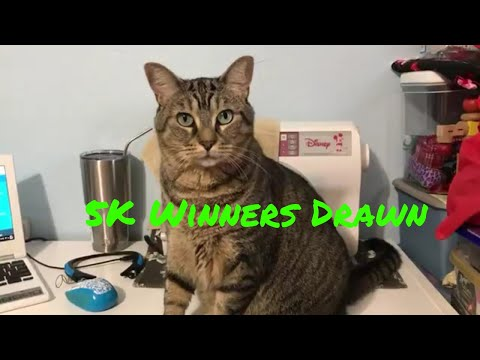 5K Giveaway Winners announced and a visit from Miss Whiskers