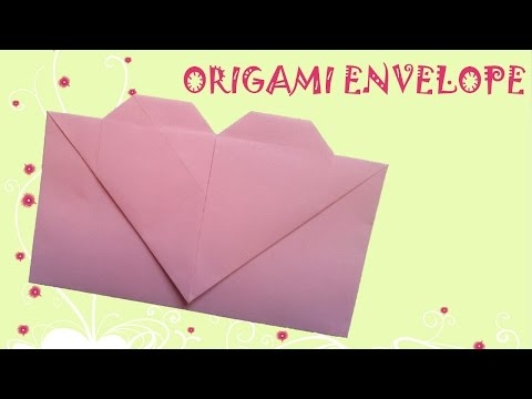 Origami Easy - Origami Heart Envelope