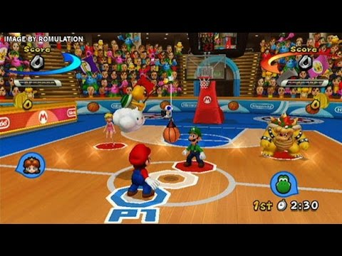 Mario Sports Mix - Mario And Friends Basketball Games - Videos Games - Nintendo Wii Edition