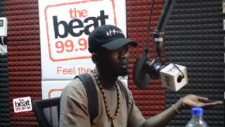 Mr Eazi Explains the Ghanaian/Nigerian Rivalry - Speaks to Toolz [The Beat 99.9 FM]