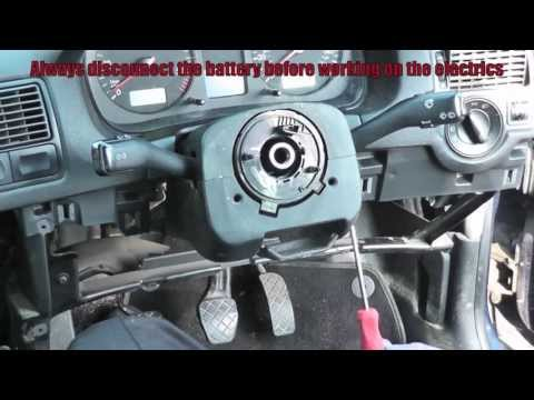 VW Golf Jetta Turn Signal Arm Removal Simple Easy Steps