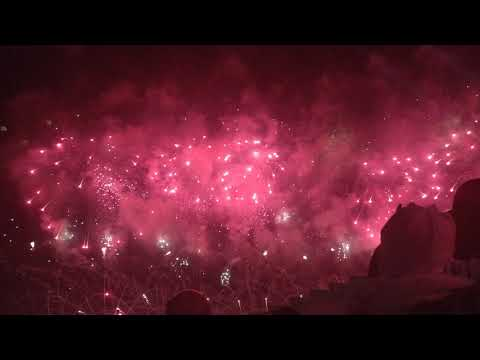 Qatar National Day Katara Fire works 17 Dec 2018