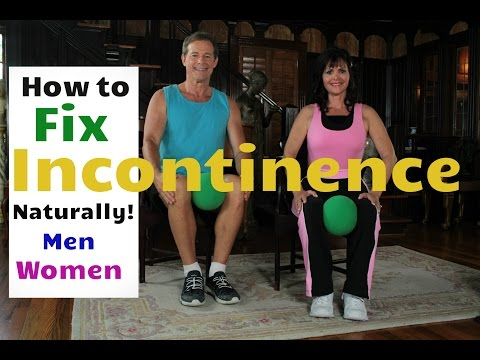 How to Fix Urge Incontinence Naturally for Men and Women!