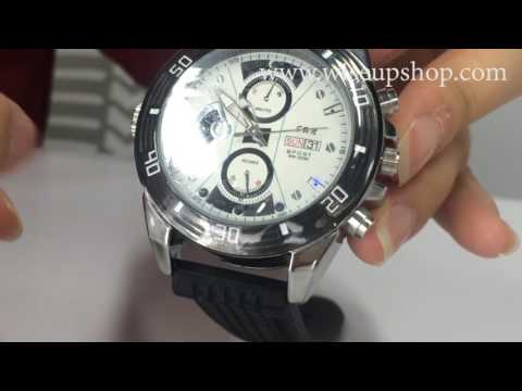 WISEUP 8GB 1280x720P HD Spy Camera Watch Operation Instruction and Demo (Model Number: W8100)