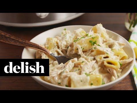 Slow-Cooker Chicken Alfredo | Delish