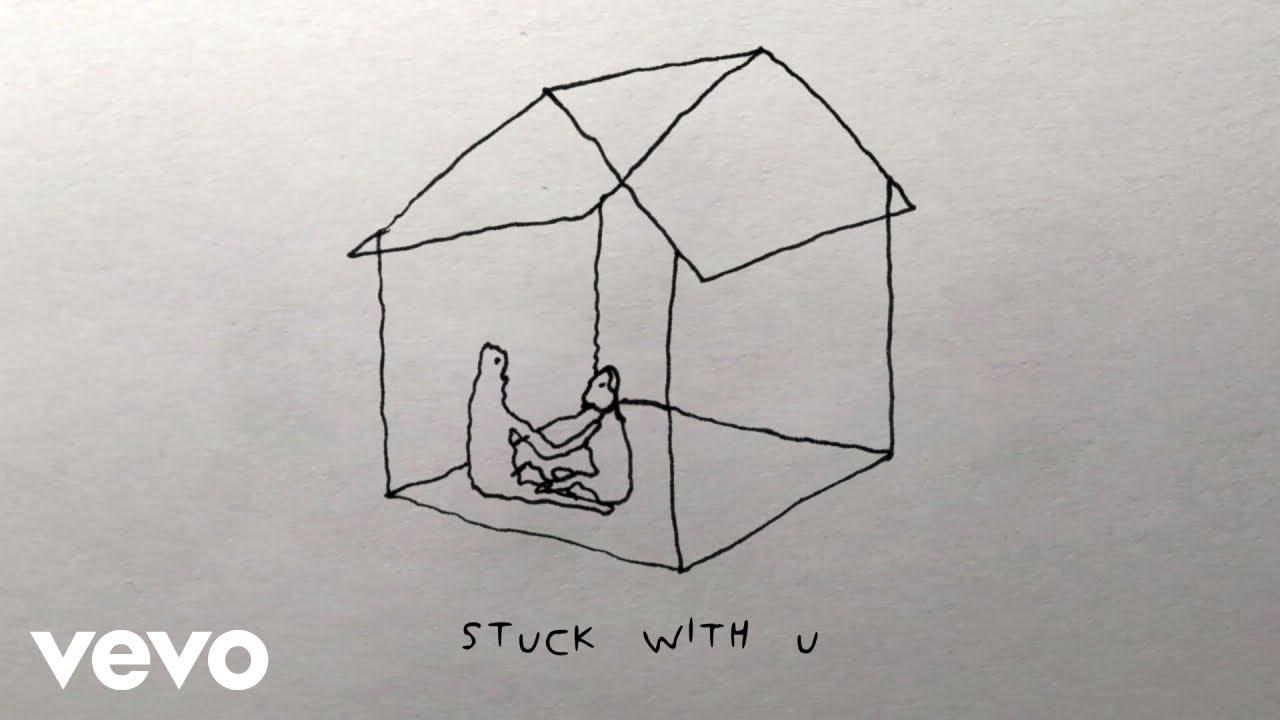 "Ariana Grande, Justin Bieber - Stuck with U """