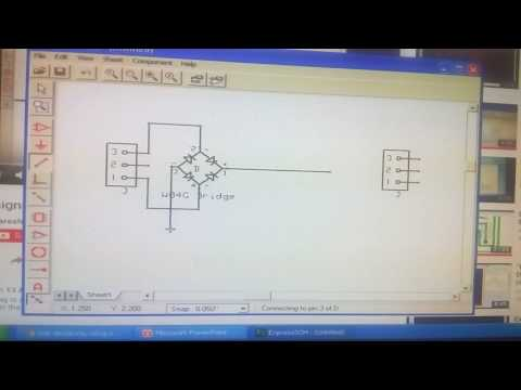 Schematic Diagram using EXPRESS PCB
