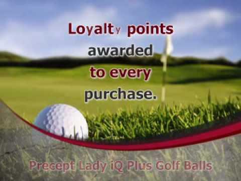 Precept Lady iQ Plus Golf Balls