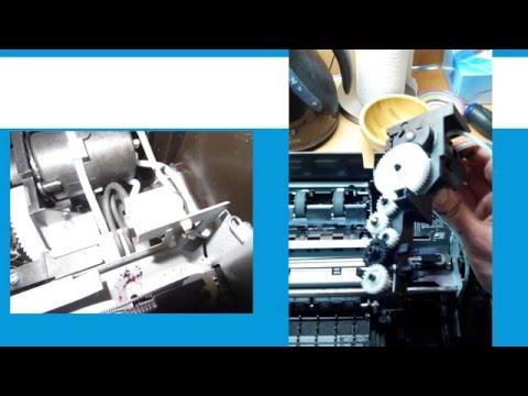 Repair black ink problem HP 6510 printer