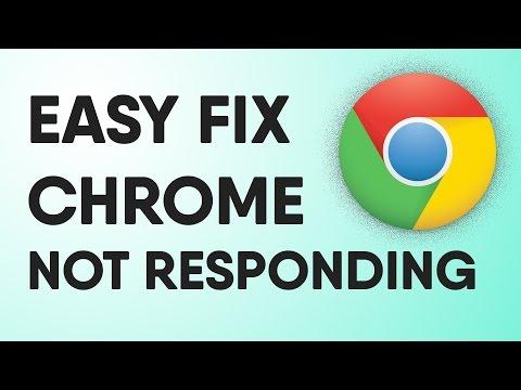 Google Chrome Unresponsiveness / Not Responding Fix   Quick