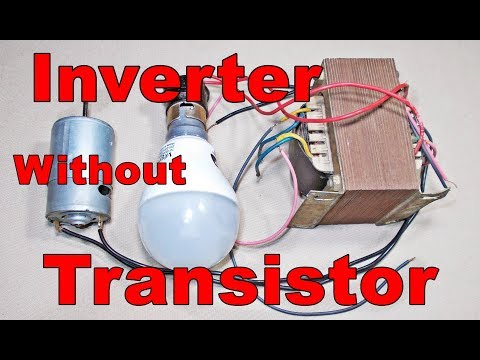Inverter Without Circuit Board, Transistor | Without Skill You Can Make Your Own Inverter