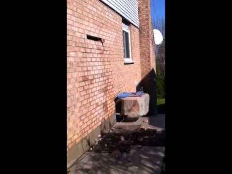DIY DOOR CUT-OUT THROUGH BRICK