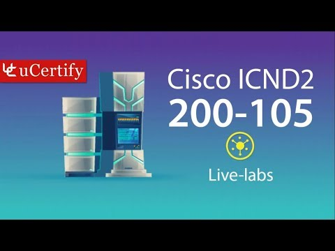 CCNA ICND2 200-105 Pearson uCertify Network Simulator