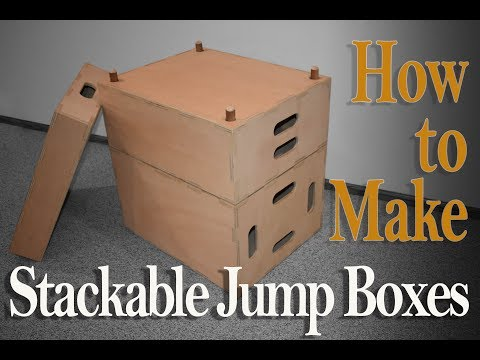 How to make CrossFit Jump Boxes