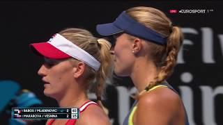 Kritina Mladenovic/Timea Babos vs Ekaterina Makarova/Elena Vesnina Australian Open 2018 Double Final