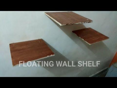 How to make floating wall shelf