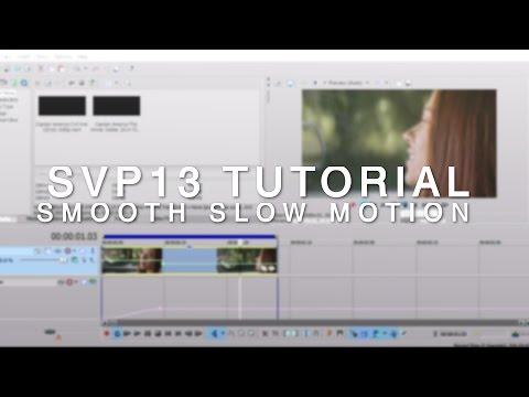 sony vegas 13 tutorial | smooth slow motion [ w/o twixtor AND w/ twixtor]
