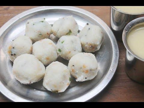 Breakfast Kozhukattai Recipe - Steamed Dumplings
