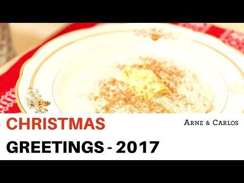Christmas Greetings from ARNE & CARLOS