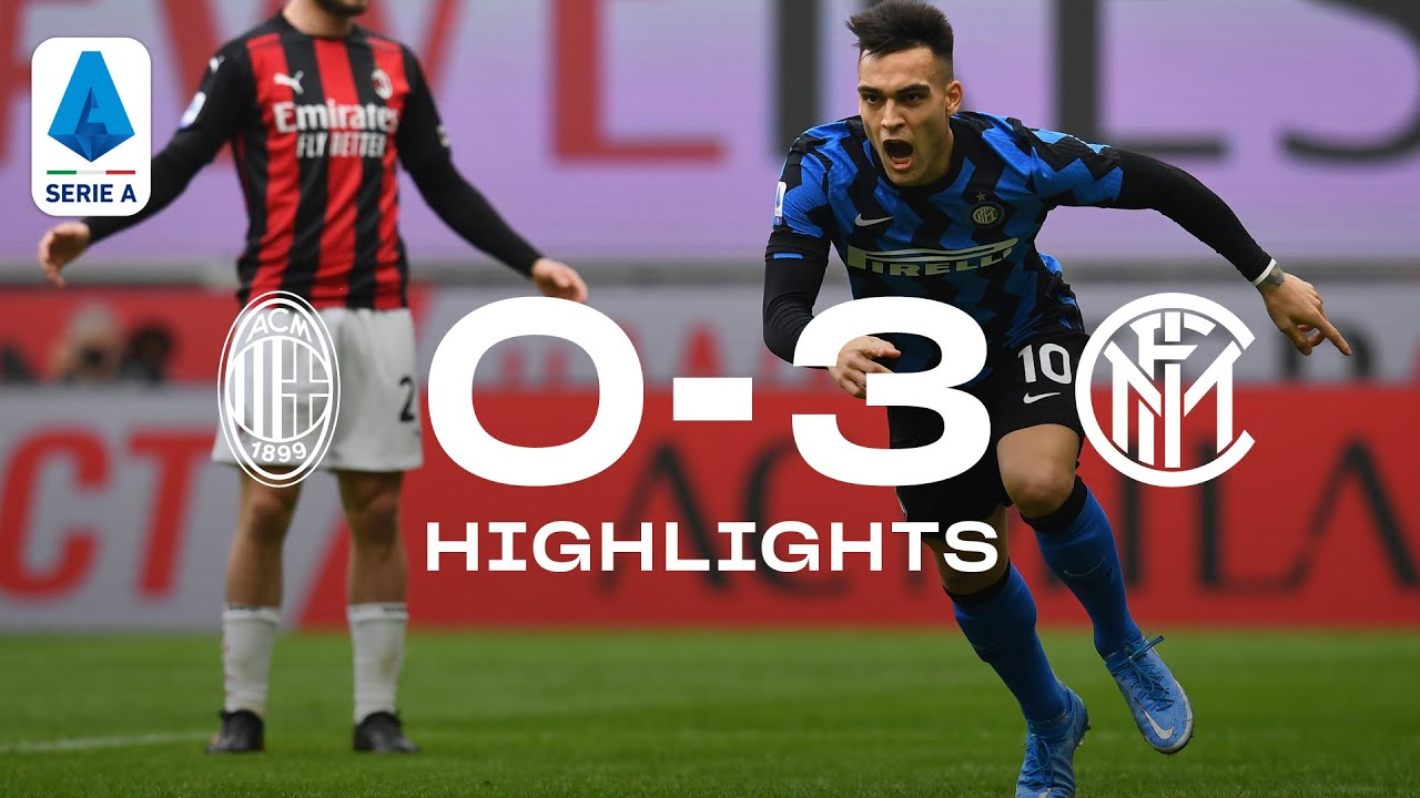 AC MILAN 0-3 INTER | HIGHLIGHTS | SERIE A 20/21 | Lu-La turns Milano Nerazzurra! ✌🏻⚫🔵