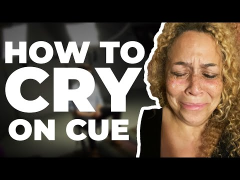 Audition Tip: Crying On Cue. Talent Manager Advice