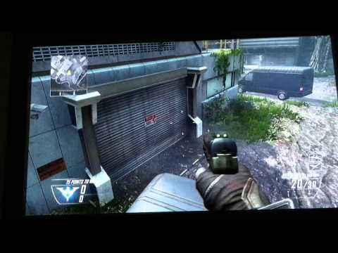 Drone wall glitch