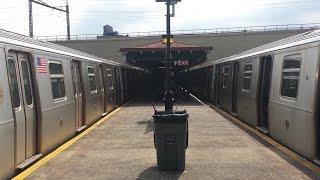 MTA NYC Subway: On Board R160 (Q) Train From Lexington Avenue-59th