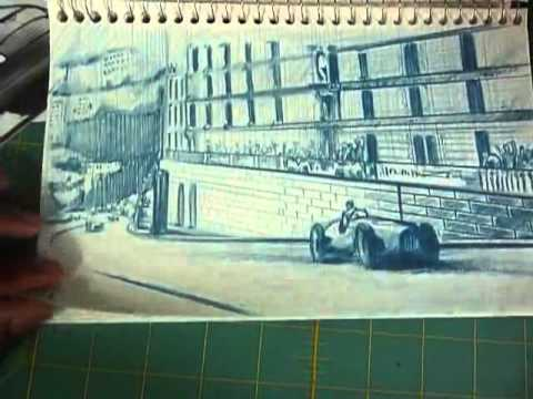 How to Draw Cars - Keeping an Active Sketchbook.mp4