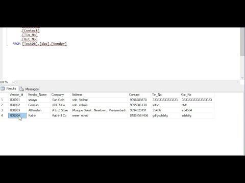 How Generate Custom ID in SQL