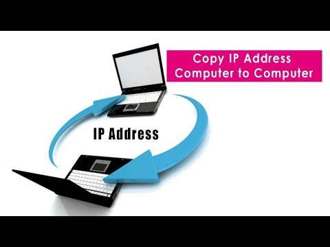Copy Ip address from PC to another PC