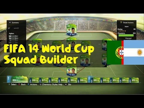 FIFA 14 World Cup | Squad Builder | Messi and Ronaldo Hybrid | 86 Rated