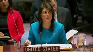 YOU will not BELIEVE what UN Ambassador Nikki Haley just said about ISRAEL at UN Security Meeting