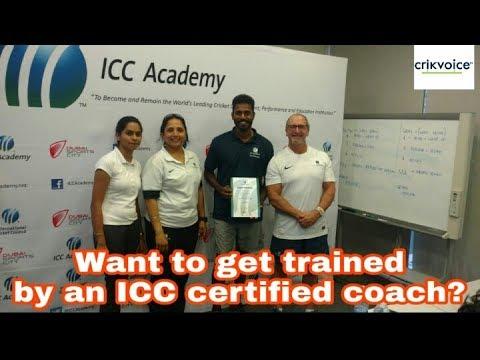 Get prepared by an ICC Certified Coach   Cricket Drome   Chennai cricket camp