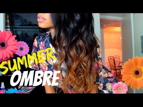Easy Summer Ombré Tutorial! | ft Hot beauty hair