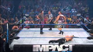 Sting and Bully Ray vs. Kazarian and Christopher Daniels