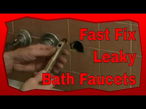 How To Fix Leaky Bathtub Faucets
