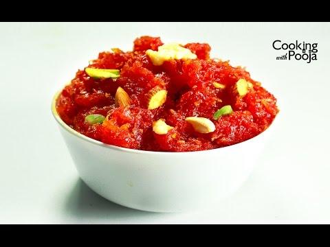 Carrot halwa Recipe - how to make easy Gajar Ka Halwa at home -Gajar Ka Halwa Recipe in hindi